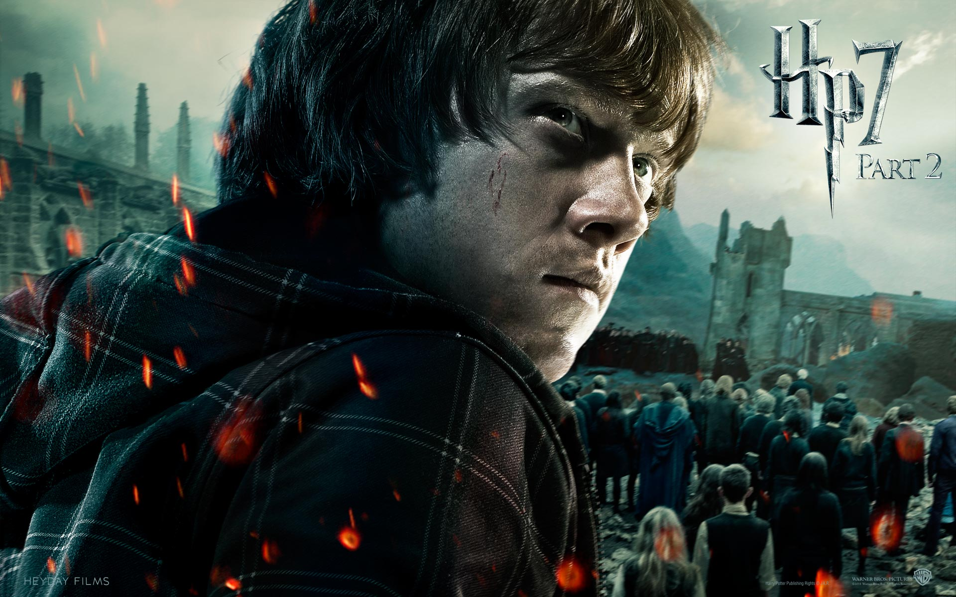 Wallpaper Harry Potter HP7 Ron