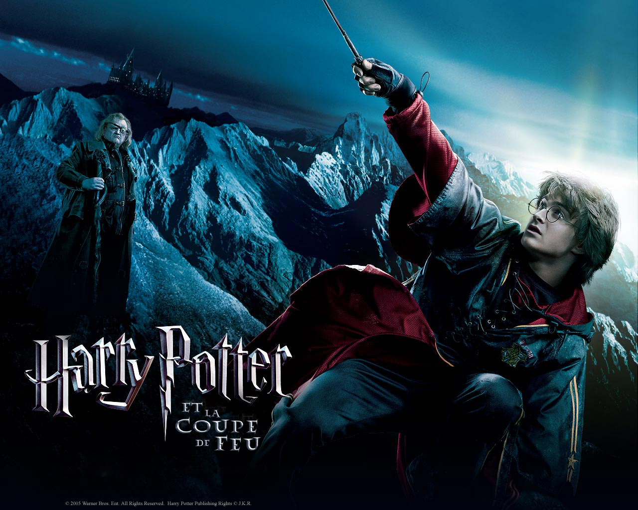 Wallpaper Harry Potter Harry Potter en action