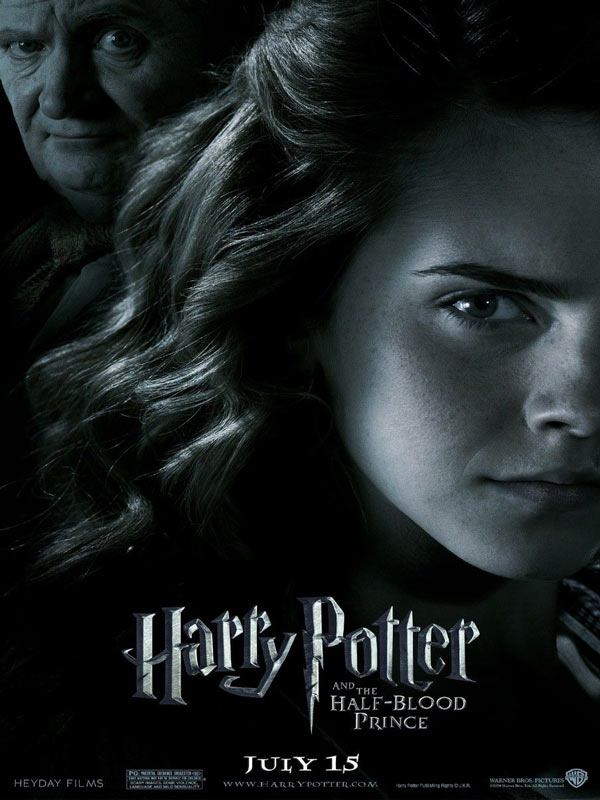 Wallpaper Hermione Granger noir et blanc Harry Potter