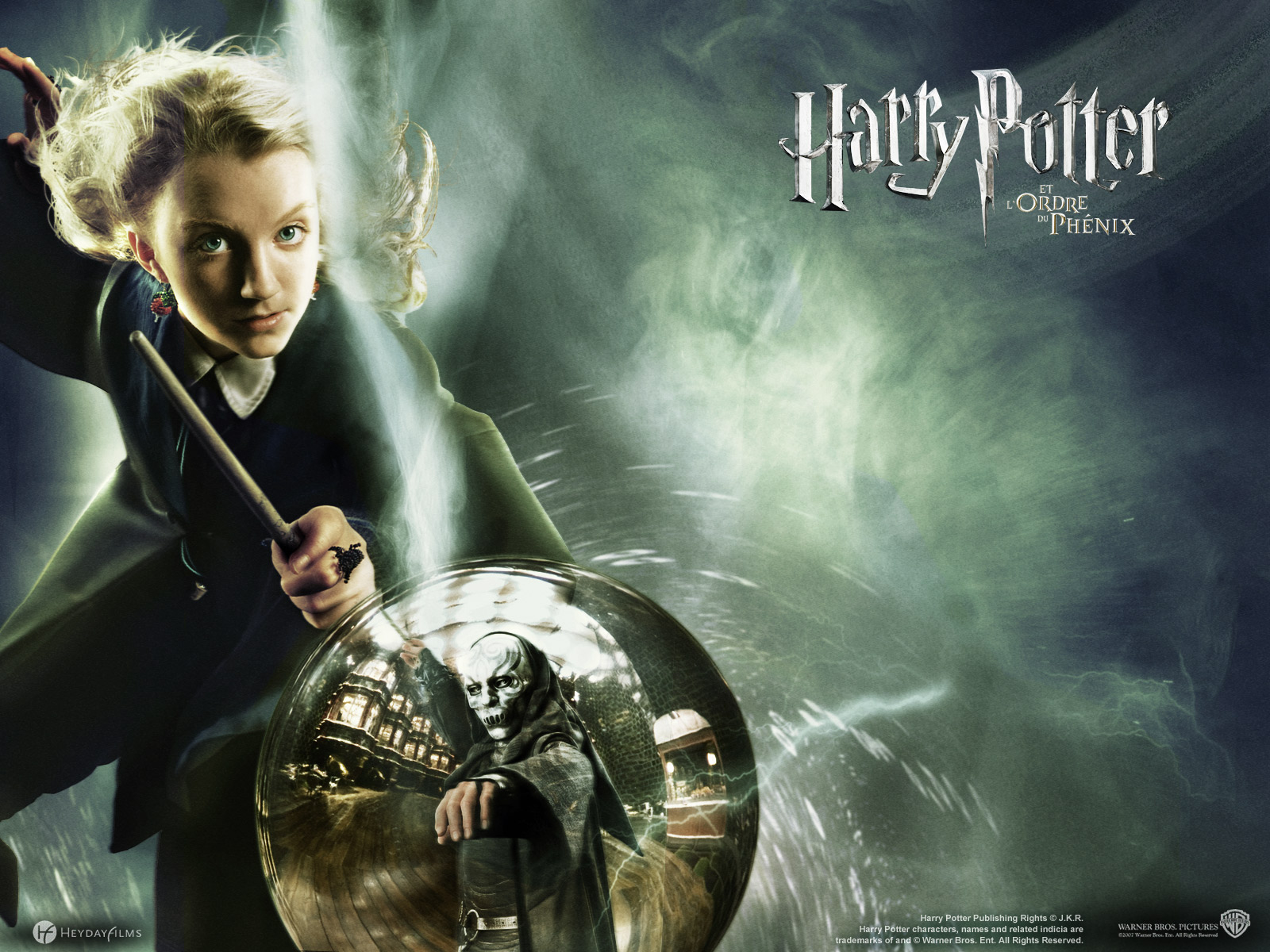 Wallpaper Luna Lovegood Harry Potter