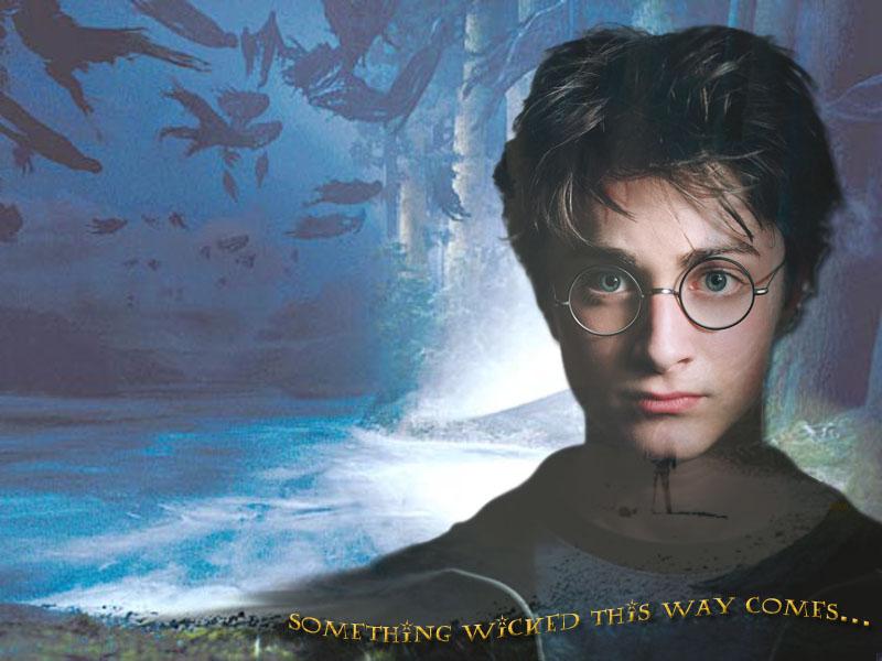 Wallpaper Harry Potter demon