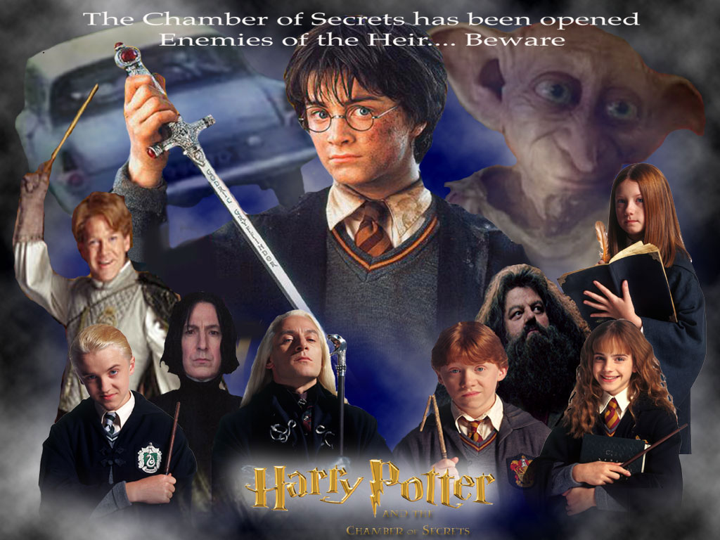 Wallpaper la chambre des secrets Harry Potter