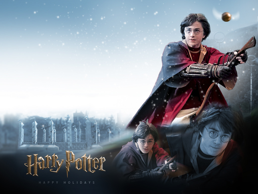 Wallpaper Harry Potter quidditch