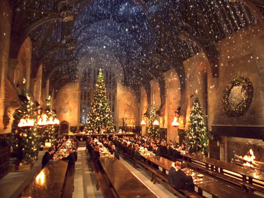 Wallpaper Harry Potter winter