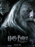 Wallpaper Harry Potter Dumbledore noir et blanc