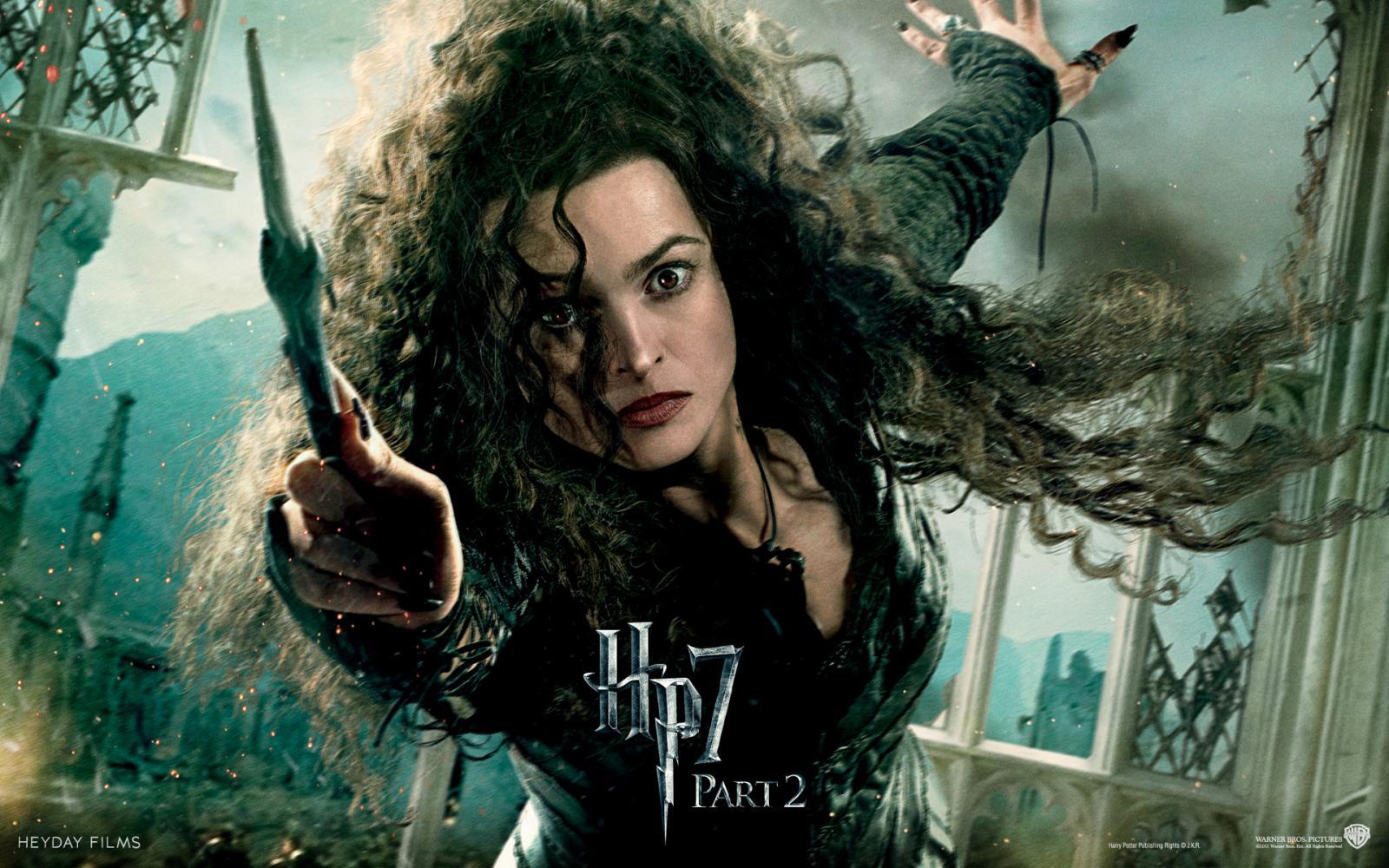 Wallpaper Harry Potter HP7 Bellatrix - Helena Bonham Carter