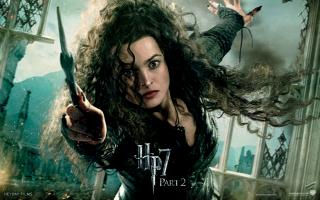 Wallpaper HP7 Bellatrix - Helena Bonham Carter Harry Potter