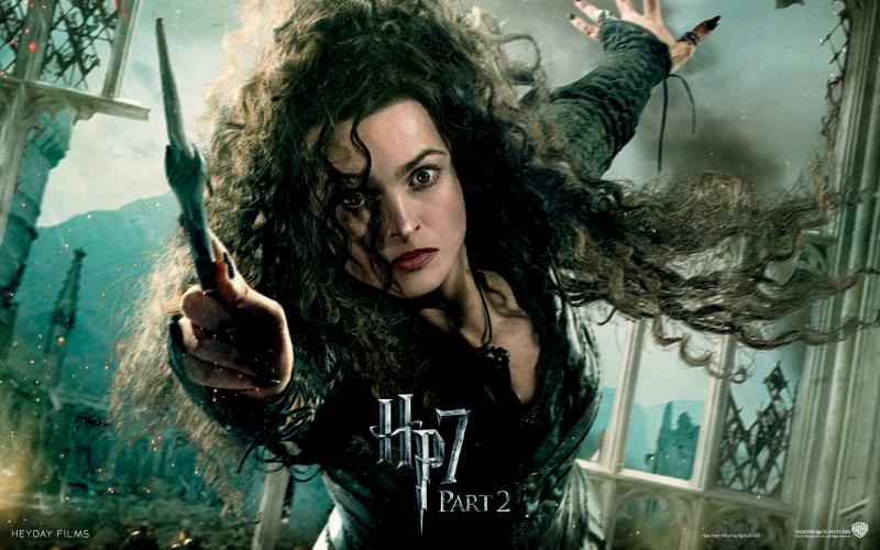 Wallpaper Harry Potter HP7 Bellatrix - Helena Bonham Carter