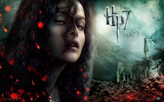 Wallpaper HP7 Bellatrix Harry Potter