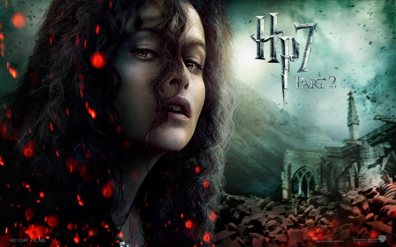 Wallpaper Harry Potter HP7 Bellatrix