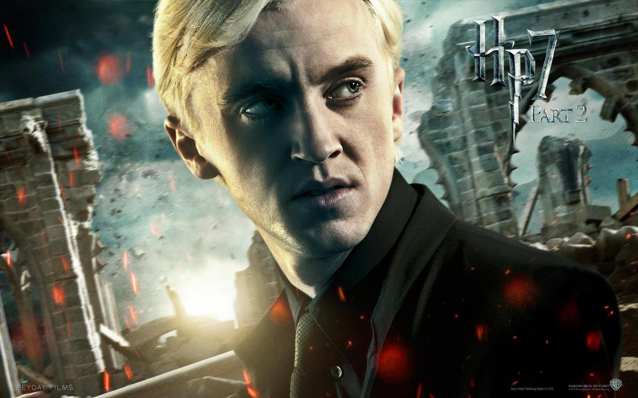 Wallpaper Harry Potter HP7 Draco