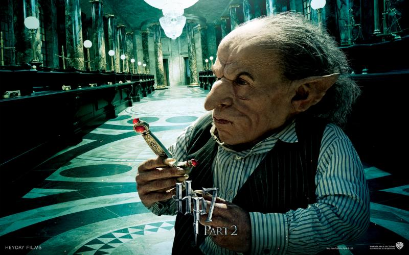 Wallpaper Harry Potter HP7 Goblin - Warwick Davis