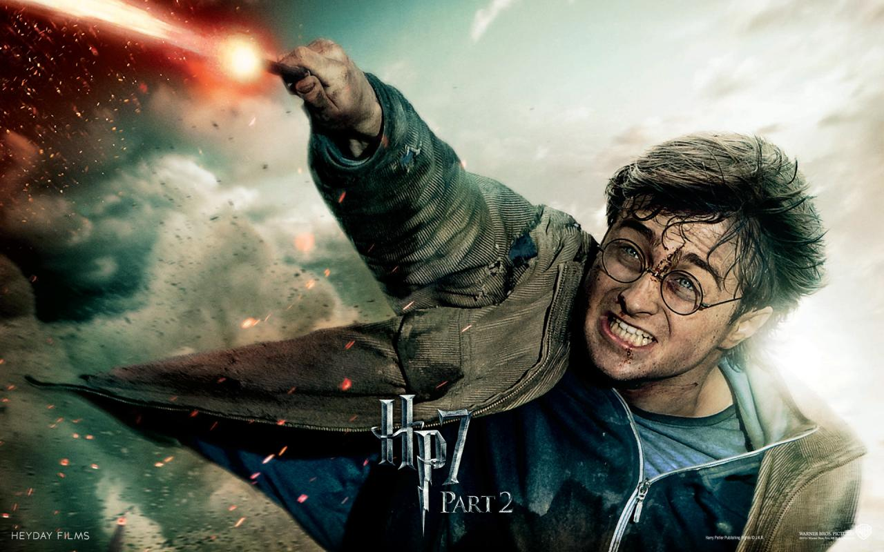 Wallpaper Harry Potter HP7 Harry Potter - Daniel Radcliffe