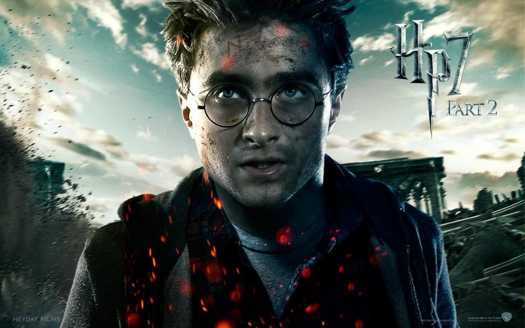 Wallpaper Harry Potter HP7 Harry Potter