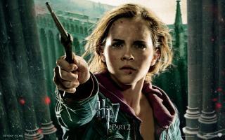 Wallpaper HP7 Hermione Granger - Emma Watson Harry Potter