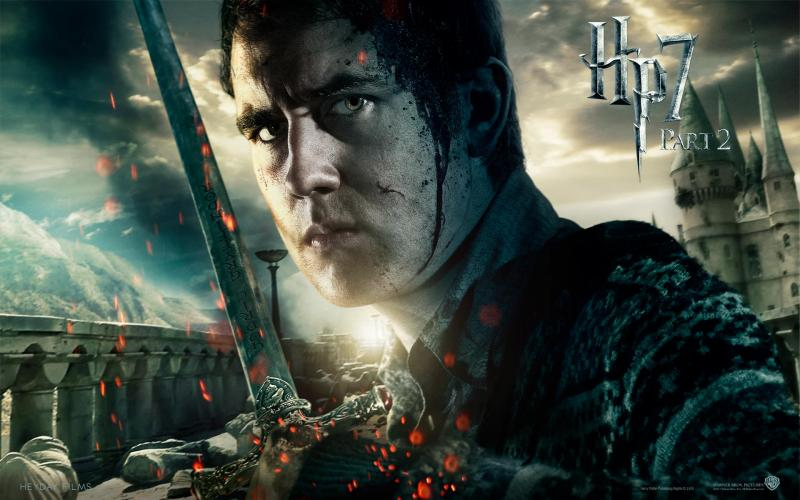 Wallpaper Harry Potter HP7 Neville