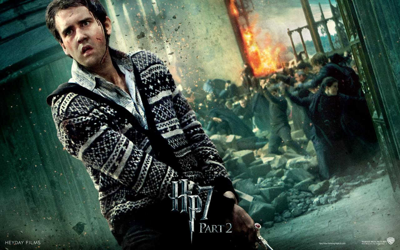 Wallpaper HP7 Neville Londubat - Matthew Lewis Harry Potter