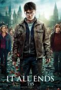 Wallpaper Harry Potter HP7 Part 2 poster - Harry