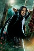 Wallpaper Harry Potter HP7 Part 2 poster - Snape