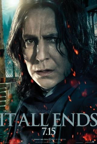 Wallpaper HP7 Part 2 poster - Snape Harry Potter