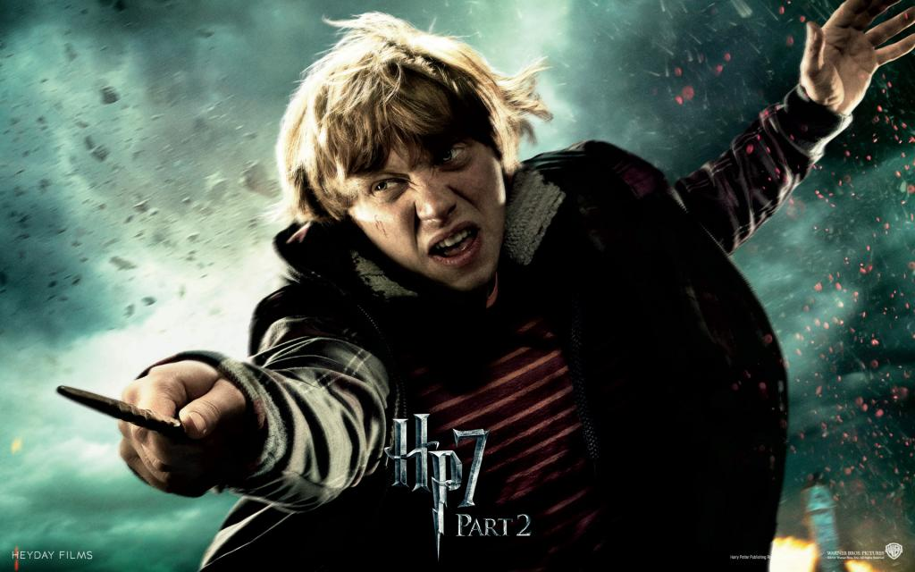 Wallpaper Harry Potter HP7 Ron Weasley - Rupert Grint