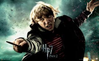 Wallpaper HP7 Ron Weasley - Rupert Grint Harry Potter