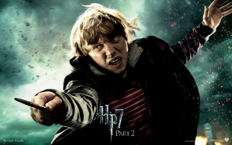 Wallpaper HP7 Ron Weasley - Rupert Grint Harry Potter