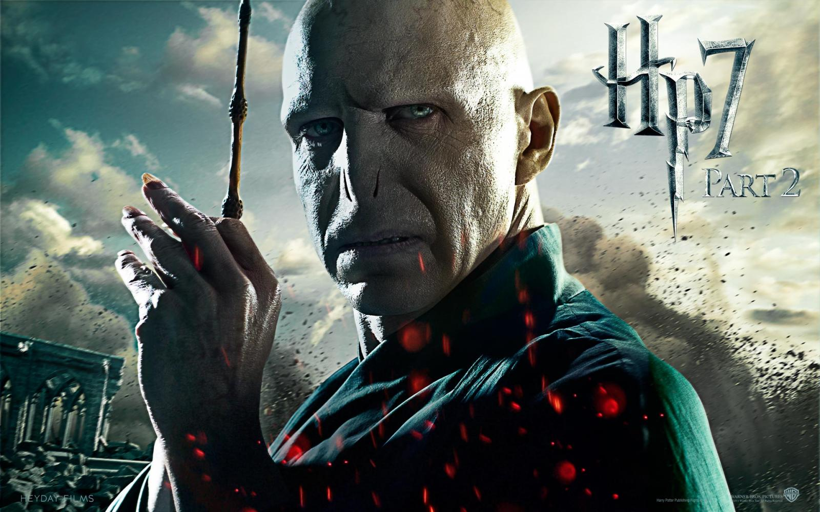 Wallpaper Harry Potter HP7 Voldemort - Ralph Fiennes