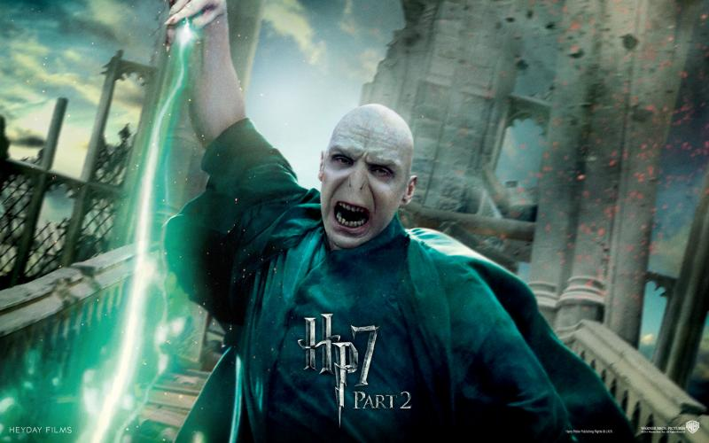 Wallpaper Harry Potter HP7 Voldemort
