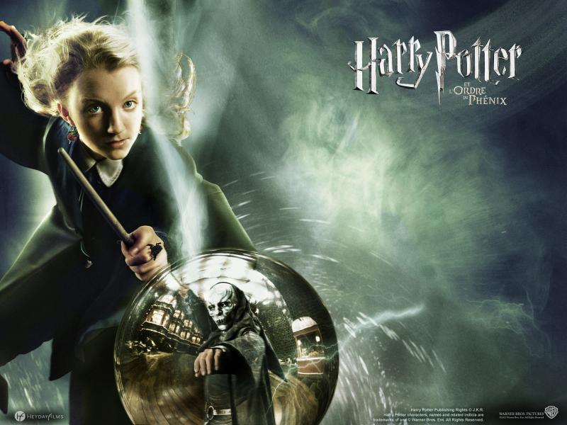Wallpaper Luna Lovegood Harry Potter