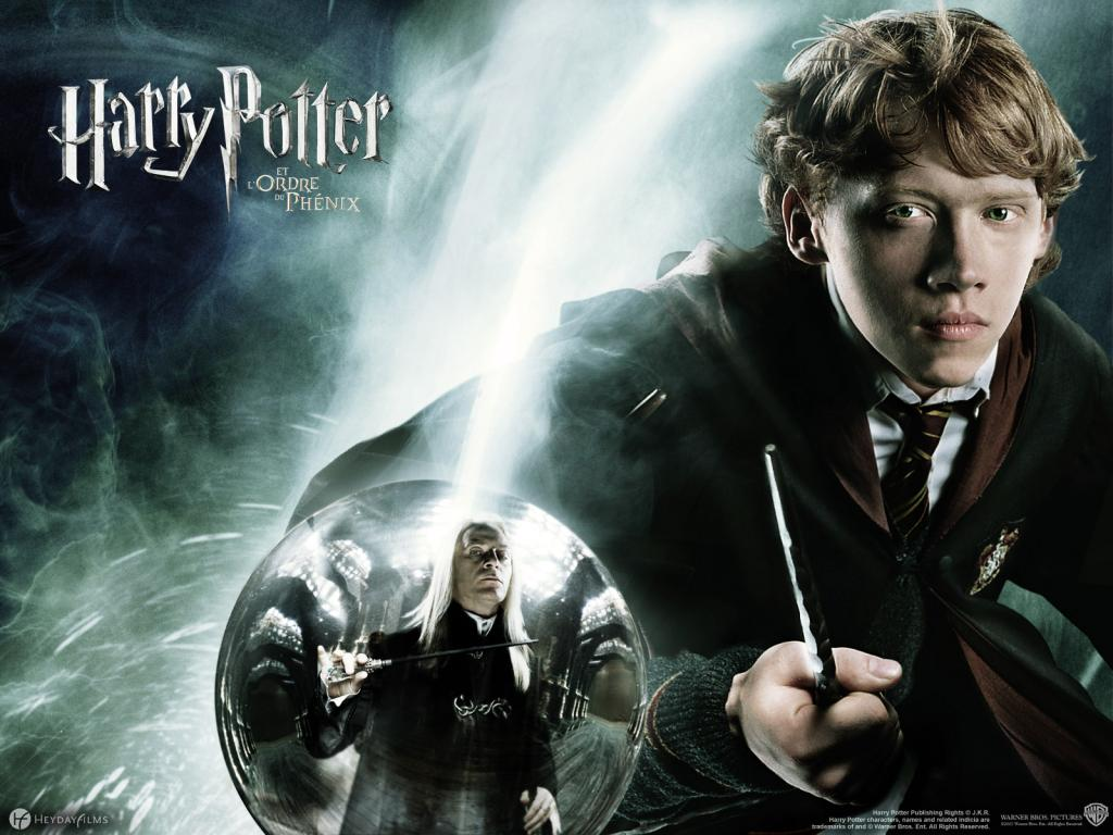 Wallpaper Ron Weasley Harry Potter