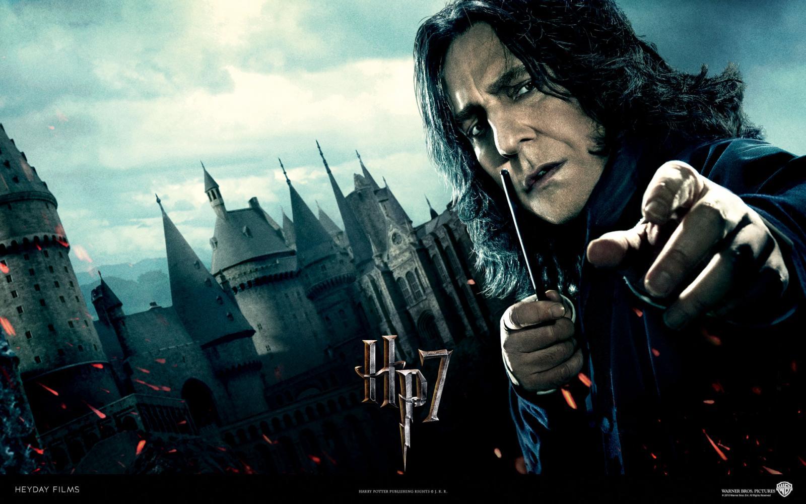 Wallpaper Harry Potter Snape