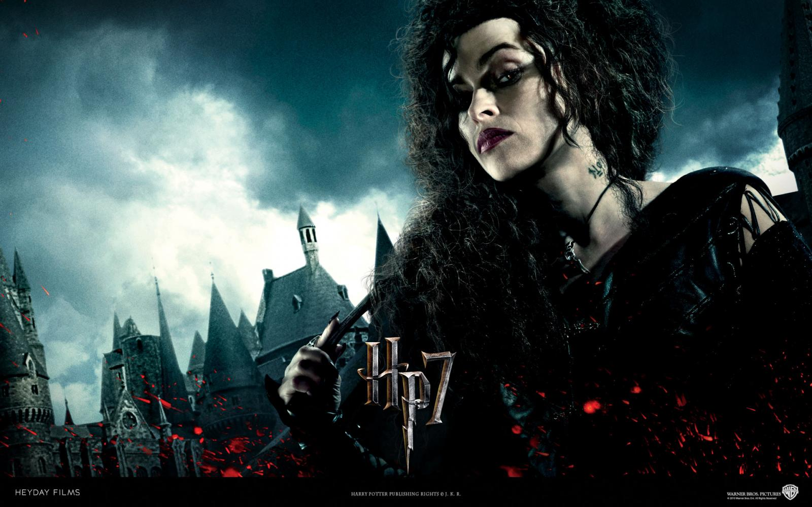 Wallpaper Harry Potter bellatrix