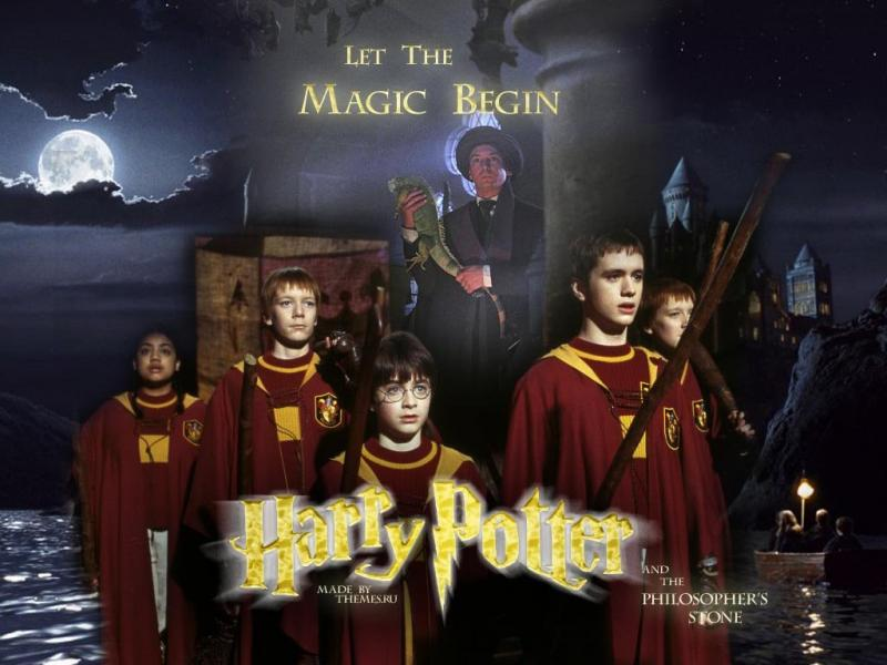 Wallpaper chateau Harry Potter
