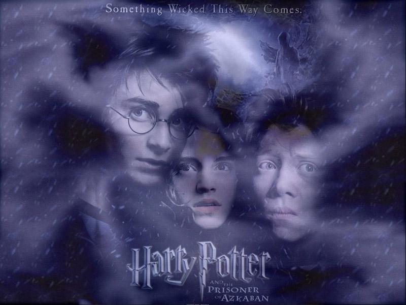 Wallpaper Harry Potter hermione harry ron