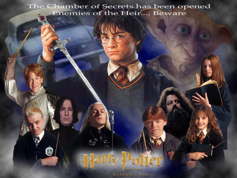 Wallpaper la chambre des secrets Harry Potter