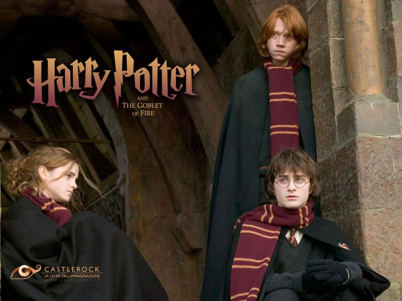 Wallpaper Harry Potter la coupe de feu