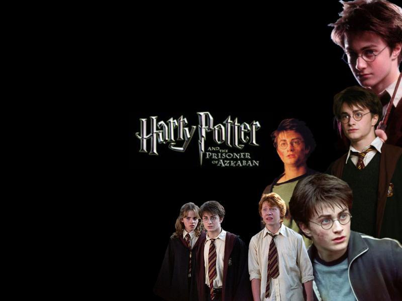 Wallpaper les heros Harry Potter