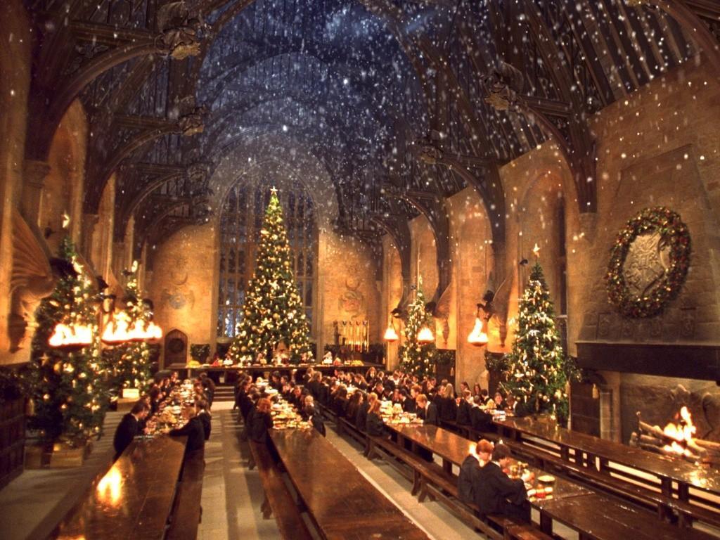 Wallpaper Harry Potter winter