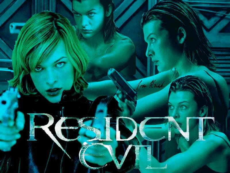 Wallpaper Resident Evil guerriere