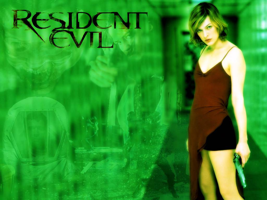 Wallpaper Resident Evil jolie fille