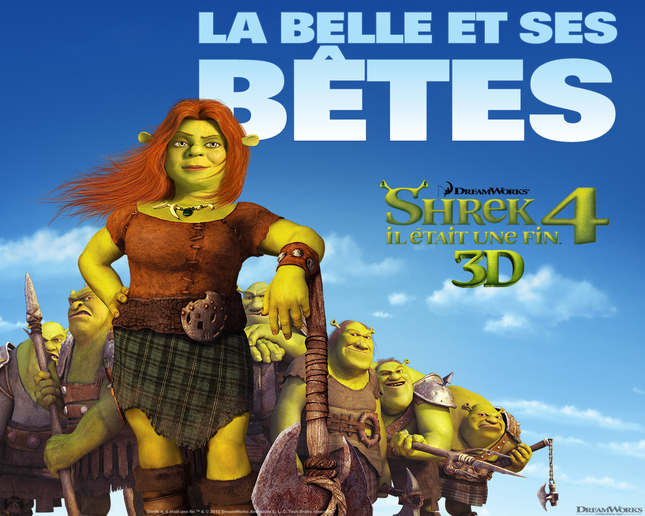 Wallpaper SHREK 4 Fiona Shrek