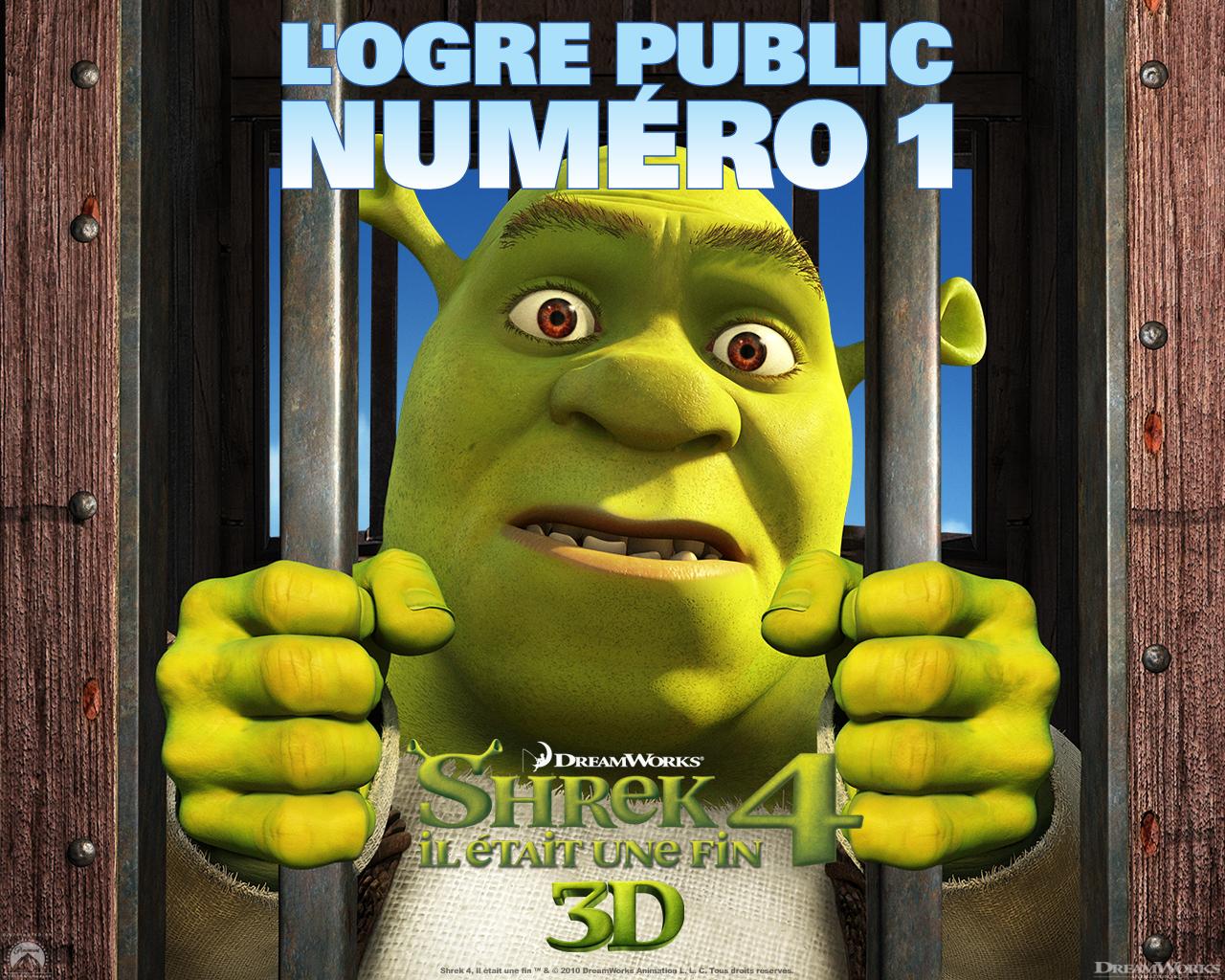 Wallpaper Shrek SHREK 4 ogre public numero 1
