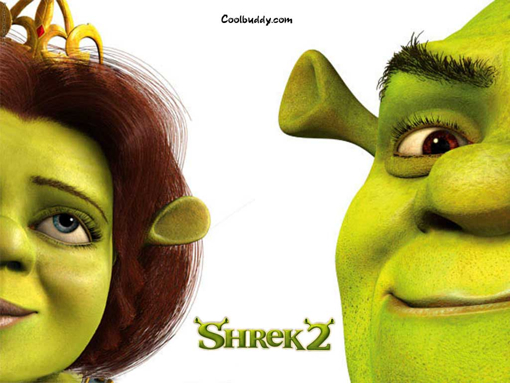 Wallpaper couple Shrek
