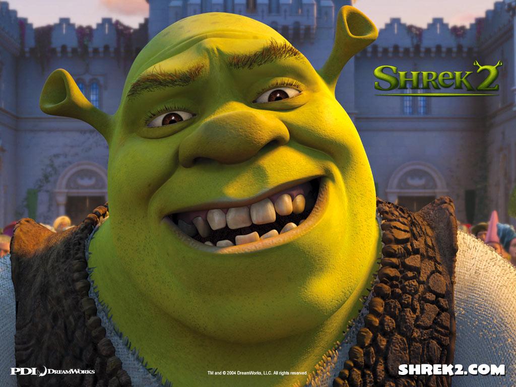 Wallpaper cours du roi Shrek