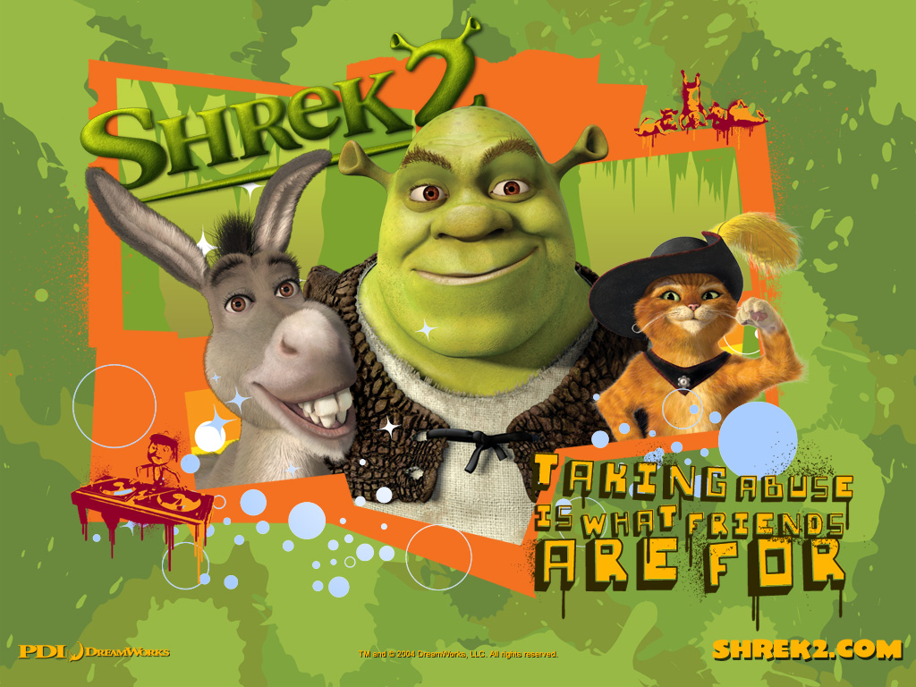 Wallpaper Shrek shrek 2