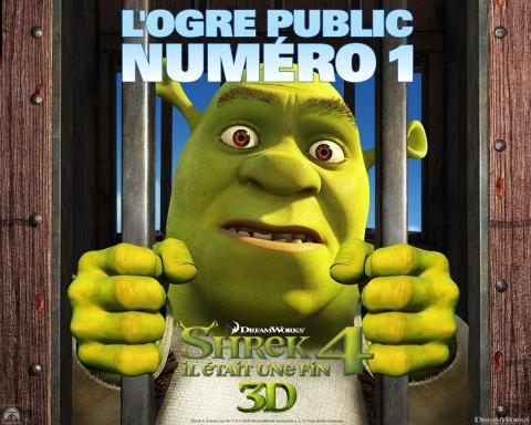Wallpaper SHREK 4 ogre public numero 1 Shrek