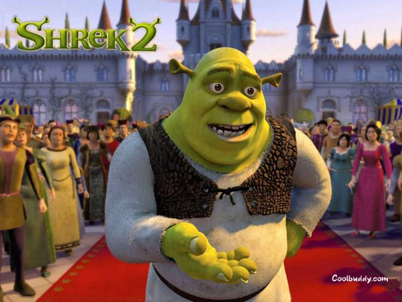 Wallpaper ogre Shrek