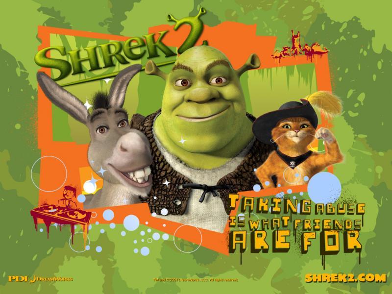 Wallpaper shrek 2 Shrek