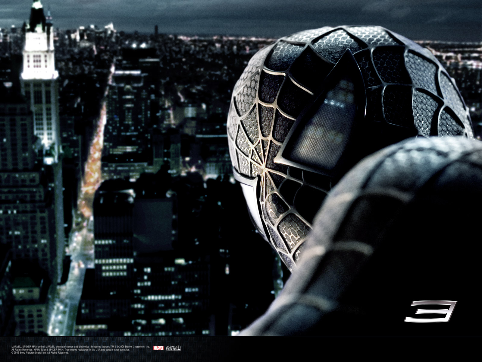 Wallpaper Peter sombre Spiderman